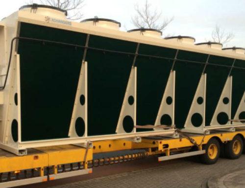 17 drycoolers en 156 condensors voor een klant